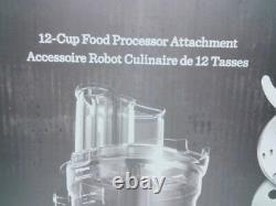 Vitamix 12-Cup Food Processor With Self-Detect New Open Box