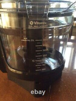 Vitamix 12-cup Food Processor attachment with SELF-DETECT, base not included