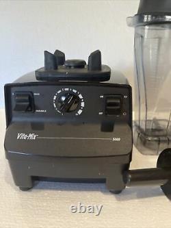 Vitamix 5000 Black Juicer Food Processor Blender