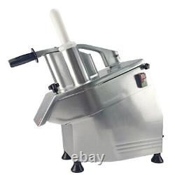 Zica Commercial Vegetable Cutter Cheese Potato Chips Slicer Food Processor 5Disk