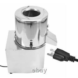 110v Électrique Chopper De Légumes En Acier Inoxydable Cutter Processeur Commercial D'aliments