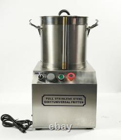 15l 110v En Acier Inoxydable Processeur De Nourriture Commerciale Électrique