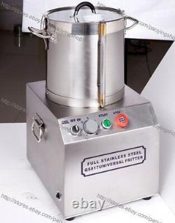 15l D'acier Inoxydable Électrique Robot Culinaire Commercial Chopper Grinder Dicer
