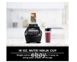 5 Pc Ninja Bl770 Mega Système De Cuisine Mélangeur Processeur De Nourriture 1500w Auto-iq Base