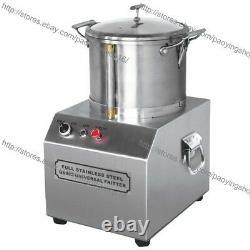 6l Commercial Home Electric Vegetable Fruit Meat Food Grinder Processor Crusher