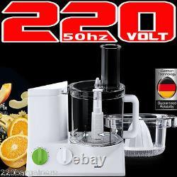Braun Fp3020 220 Volt Processeur Alimentaire Avec 5 Pièces Jointes (non-usa) Pour L'europe