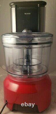 Breville Bfp800cbxl Sous Chef 16 Pro Food Processor 16 Cup Cranberry Red