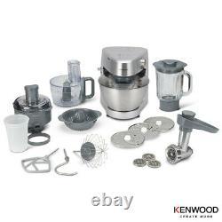 Compact Design Prospero Plus 4,3l Bowl Stand Mixer En Argent Avec 11 Pièces Jointes