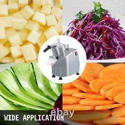 Coupeur De Fromage Végétal Vevor Commercial Food Processor Avec 6 Disques, Ce Approuvé