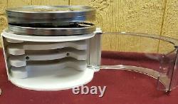 Cuisinart Custom 14 Cup Processeur De Nourriture Noir Chrome Avec 1 Reg Et 3 Lames De Disque