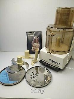 Cuisinart Dlc-7 Super Pro Food Processor W Slissing & Dough Blade, Fabriqué Au Japon