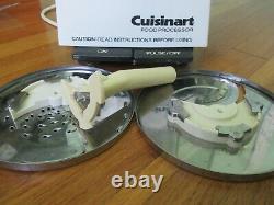 Cuisinart Food Processor Model Dlc-7 Pro Fabriqué Au Japon. Numéro De Série A0871894