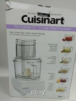 Cuisinart Pro Custom 11 11-cup Processeur Alimentaire Dlc-8sy