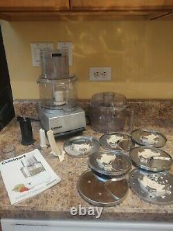 Cuisinart Pro Custom 11-cup Processeur Alimentaire, Dlc-86tx Withextras Great Shape