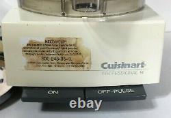 Cuisinart Professional 14 Processeur Alimentaire Dlc7m Fabriqué Au Japon Avec Des Lames