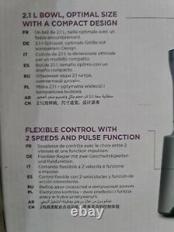 Kenwood 800w Multipro Compact Food Processor Fdp302si 5 Outils De Traitement 2 Vitesse