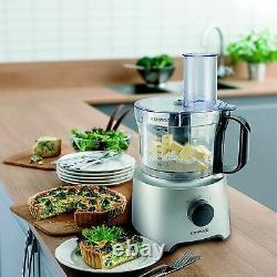 Kenwood Food Processor 2.1l Bowl Multi Pro 1.2l Blender Lame De Couteau Émulsifiant