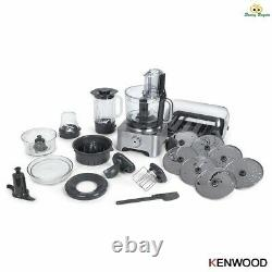 Kenwood Multipro Excel Food Processor 4l & 1.6l 1300w Vitesse Variable Fpm910