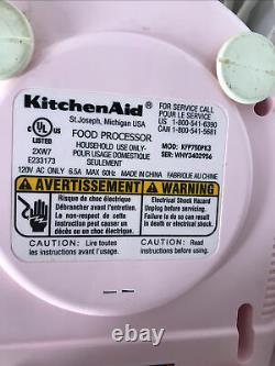 Kichenaid Pink 12 Cup Processeur Alimentaire Kfp750pk3 Utilisation