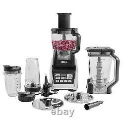 Kitchen 1500w Nutri Ninja Robot Culinaire Blender 2.1l Pitcher & 3 X Tasses Tritan