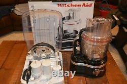 Kitchen Aid Black Pro Line 16 Tasse Food Processor Style Commercial
