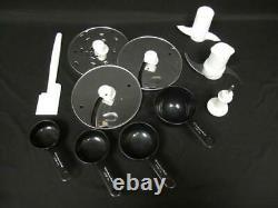 Kitchenaid 12 Tasse Processeur Alimentaire Blanc Kfp750 Recettes Manuelles Pièces Jointes 700w