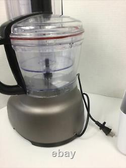 Kitchenaid 13-cup Architect Food Processor Exact Slice System Kfp1333 Utilisé