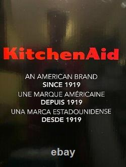 Kitchenaid 9 Coupe Processeur De Nourriture Plus 3 Option De Vitesse Large Bouche Empire Argent Nouveau