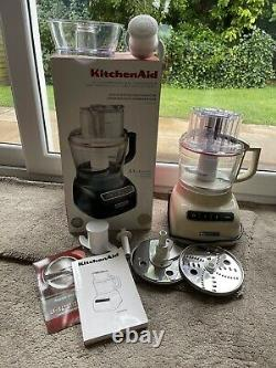 Kitchenaid Artisan 2.1l Processeur Alimentaire (crème D'amande) (modèle 5kfp0925)