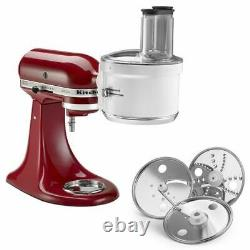 Kitchenaid Exact Processeur D'alimentation Slice Raccorde Tous Les Supports D'aid Kitchenaid M