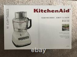 Kitchenaid Kfp1133wh 11-cup Processeur Alimentaire Avec Système De Tranche Exacte Blanc
