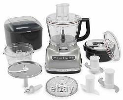 Kitchenaid Rkfp1466cu 14-cup Food Processor, Contour Silver (remis À Neuf)
