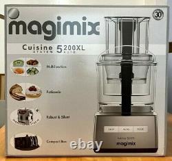Magimix Cs5200 XL 1100 W Processeur Alimentaire Brossé Chrome