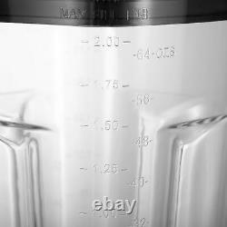 Mélangeur D'aliments Haute Vitesse 1500w Lait De Jus De Soja Fabricant 2l Commercial