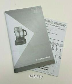 New Kitchenaid 13-cup Architect Food Processor Exact Slice System Kfp1356er Red