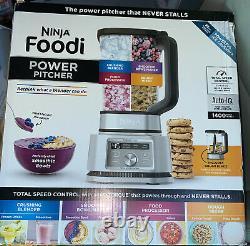 Ninja Foodi Power Pitcher 4in1 Mélangeur Et Transformateur D'aliments Ss201
