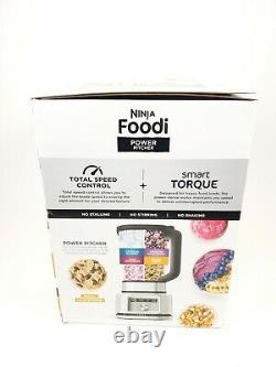Ninja Foodi Power Pitcher 4in1 Mixer Processeur Alimentaire Ss201 Nouveau Scellé