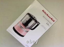 Nouveau Dans Box Kitchenaid 3.5 Cup Mini Food Processor Chopper Guava Glaze (rose)