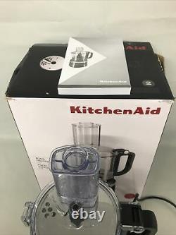 Nouveau Ex Display Kitchenaid 5kfp0719ber Processeur Alimentaire 250w 1.7l Empire Rouge