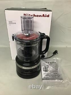 Nouveau Ex Kitchenaid 1.7l Onyx Noir Processeur Alimentaire 5kfp0719bob