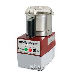 Robot Coupé R2 Ultra B Processeur Alimentaire Électrique Avec Bol En Acier Inoxydable 3 Qt.