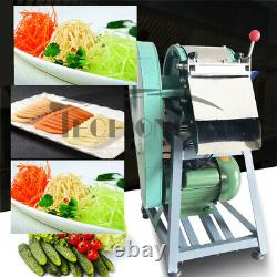 Robot Culinaire Usé Électrique Coupeur De Légumes Chopper Slicer Slicer 110v Us