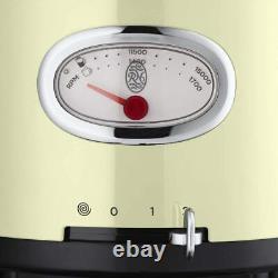 Russell Hobbs 25182-56 Retro Food Processor, Crème