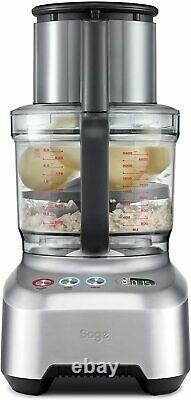 Sage La Cuisine Wizz Sfp820bal Peel And Dice Food Processor 2000w, Argent