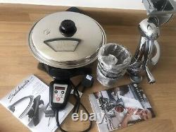 Saladmaster Versa Touch Oil Core Skillet & Saladmaster Food Processor