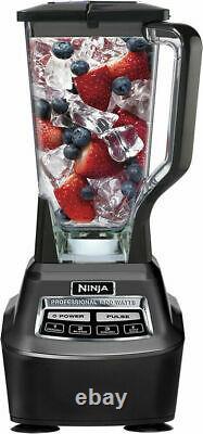Système De Cuisine Ninja Mega 72-oz. Mélangeur De Mélangeur De Mélangeur Alimentaire Bl770 Noir