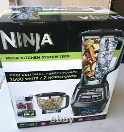 Système De Cuisine Ninja Mega (bl770) Mélangeur / Processeur D'aliments Avec 1500w Auto-iq, 72o