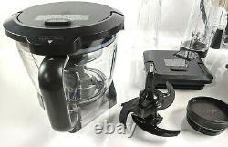 Système De Cuisine Ninja Mega (bl770) Mélangeur / Processeur D'aliments Avec Base Auto-iq 1500w