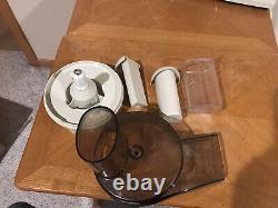 Vintage Oster Regency Kitchen Center Mélangeur 12 Vitesses Avec Accessoires