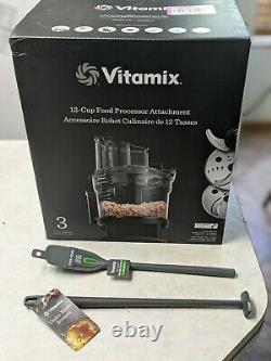Vitamix 12-cup Partie De Processeur Alimentaire Plus Cratère Sous-plaqué Et Spatule